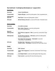 Oversigt over de nye ledere på Vordingborg Kommunes skoler fra ...