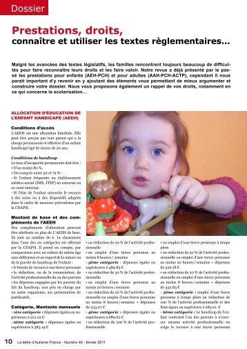 Numéro 46 - Autisme France