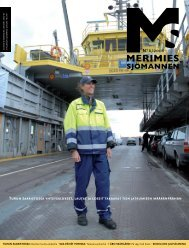 Suomenlipun alle UUSI risteilyalus: - Suomen Merimies-Unioni