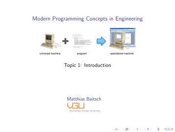 Modern Programming Concepts in Engineering - Vietnamese ...