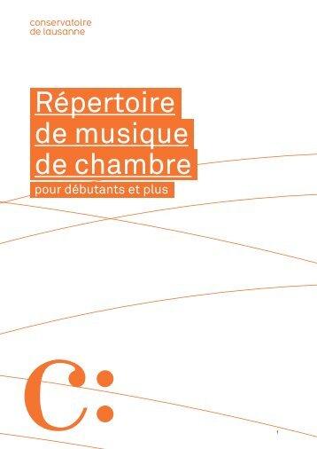 CONSULTEZ LE CATALOGUE! [pdf] - bibliothèque - Conservatoire ...