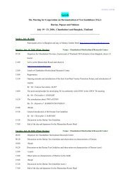 Provisional Agenda - The East Asia Plant Variety Protection Forum