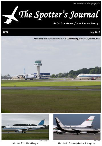 July 2012 - Aviation Photography Luxembourg