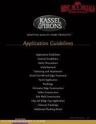 KasselWood Install Manual - Best Buy Metals