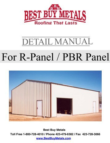 Rpanel Install Guide Pa Metal Roofing Materials Best Buy Metals
