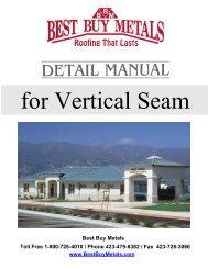 Vertical Seam Installation Guide - Best Buy Metals
