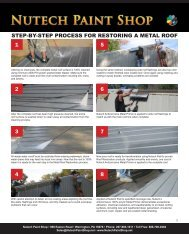step-by-step process for restoring a metal roof - iMetal.net