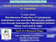 7.Genetic resources and Research of Breeding on Vegetables.pdf