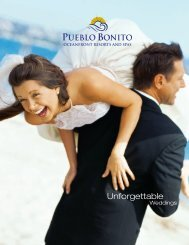 PBR-Wedding Brochure Reprint - Pueblo Bonito Resorts