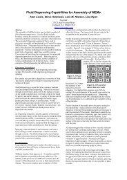 Fluid Dispensing Capabilities for Assembly of MEMs - EMSNow
