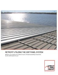 Retrofit Solutions Brochure - Architectural Building Components.