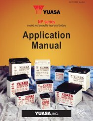 NP Application Manual - BatteryPlex