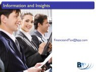 Information and Insights