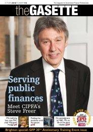 Serving public finances - Government Finance Profession - HM ...