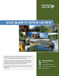 your guide to active ukraine