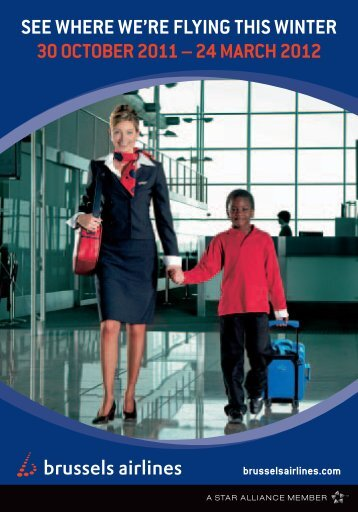 see where we're flying this winter 30 october 2011 - Brussels Airlines