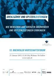 Ausschreibung Wifo 2013.pdf - AGV Rheintal