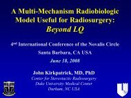 Advances in Radiation Oncology - The 4th International Conference ...