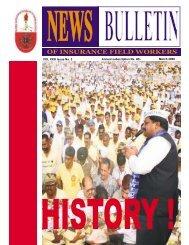 March 2008 VOL XXIII Issue No. 3 - NFIFWI