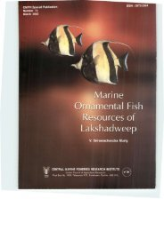 1 - Eprints@CMFRI - Central Marine Fisheries Research Institute