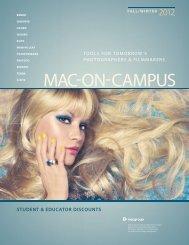 STUDENT & EDUCATOR DISCOUNTS - Mac Group