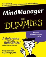 MindManager for Dummies - Airlangga Ebooks Collections