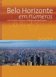 Revista Balanço PBH 2007 - Prefeitura Municipal de Belo Horizonte