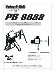 LA 6199 Sportsman.pdf - Swing-N-Slide