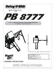 LA 6197 Huntsman.pdf - Swing-N-Slide