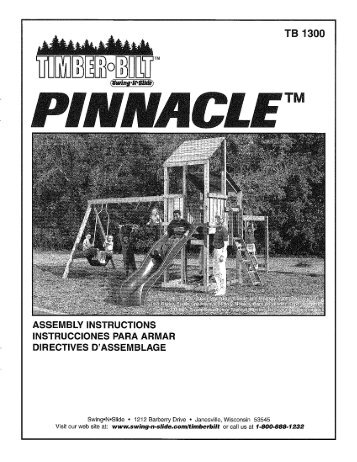 Pinnacle Swing N Slide