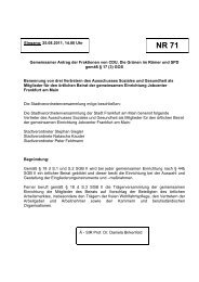 Gemeinsamer Antrag der Fraktionen von CDU, Die Grünen im ...