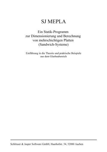 1 Einleitung - SJ Software GmbH