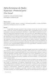 Infra-Estruturas de Dados Espaciais: Potencial para Uso ... - Revista iP
