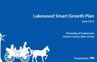 Lakewood Smart Growth Plan - State of New Jersey