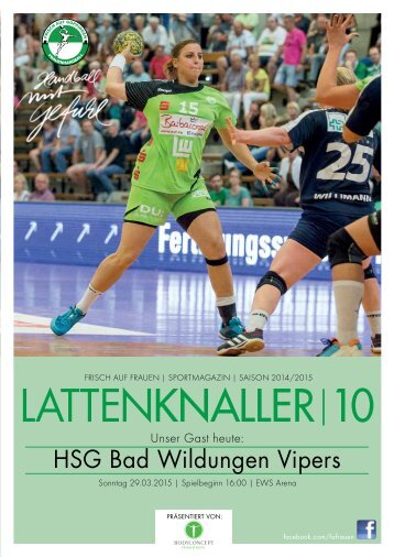 LATTENKNALLER|10 - GAST: HSG Bad Wildungen Vipers - 29.03.2015 - SAISON 2014/2015