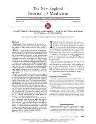 121098 Unruptured Intracranial Aneurysms -- Risk of ... - strokenotes
