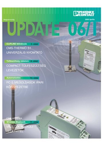 UPDATE 2006-1.qxp - PHOENIX CONTACT   Magyar honlap
