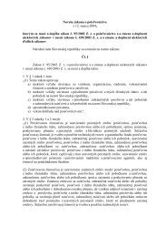 Novela zákona o poisťovníctve z 12.marca 2004