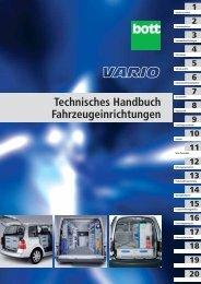 Technisches Handbuch Fahrzeugeinrichtungen (ohne Preise)