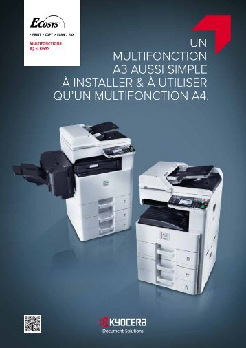 FS-C8525MFP brochure - KYOCERA Document Solutions
