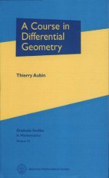 A Course in Differential Geometry - WordPress.com — Get a Free ...