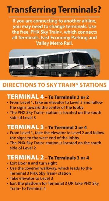 Transferring Terminals? - Phoenix Sky Harbor International Airport