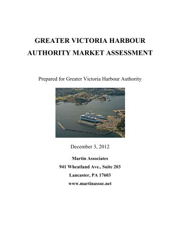 marine market assessment - Greater Victoria Harbour Authority