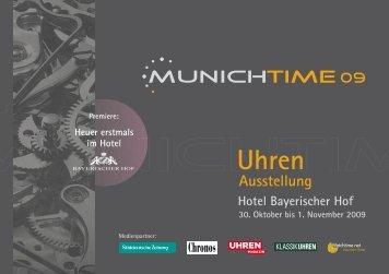 Heuer erstmals - Munichtime
