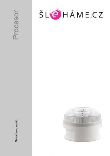Bamix - Procesor bílý (CZ)