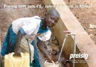 Gilgal Schule Uganda, 1. Etappe / Wasser, Toiletten und - Preisig AG