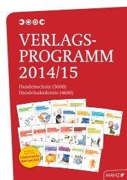Katalog HAK/HAS 2014/15 - Wissen ist MANZ