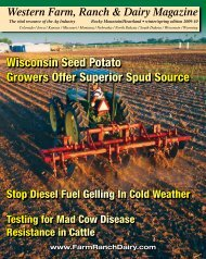 Wisconsin Seed Potato Growers Offer Superior Spud Source