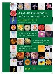 bil. pluri. previs. a-b-c-2008 - Azienda USL di Reggio Emilia