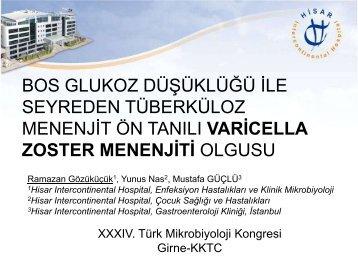 SB-01 - Türk Mikrobiyoloji Cemiyeti